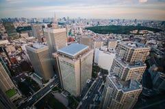 Tokyo sikt Arkivfoton