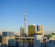 Tokyo Sky tree in Tokyo, Japan Royalty Free Stock Photo