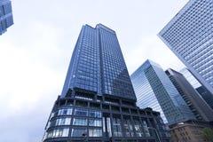 Tokyo skycrapers Stock Image