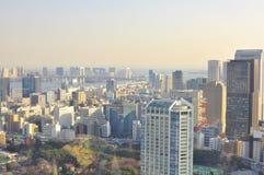 Tokyo-Skyline Lizenzfreie Stockfotos
