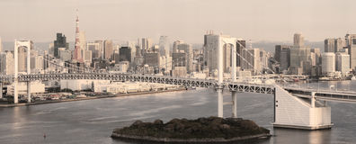 Tokyo Skyline Royalty Free Stock Images