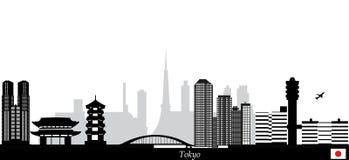 Tokyo skyline Stock Photos