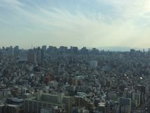 The Tokyo skyline Royalty Free Stock Photography