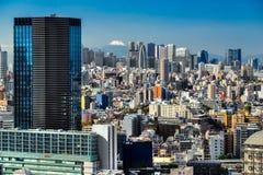 Tokyo skyline,  Japan. Stock Photos