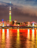 Tokyo skyline,  Japan. Royalty Free Stock Image