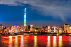 Tokyo skyline,  Japan. Stock Images