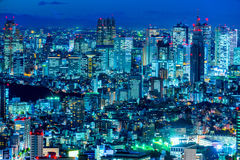 Tokyo skyline,  Japan. Royalty Free Stock Photography