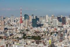 Tokyo skyline Royalty Free Stock Photo