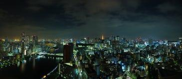 Tokyo Skyline At Night Stock Image