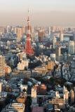 Tokyo Skyline from Roppongi Stock Photos