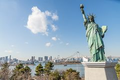 Tokyo skyline Royalty Free Stock Photography
