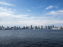 Tokyo skyline view Royalty Free Stock Photography