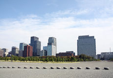 Tokyo skylines Royalty Free Stock Photos
