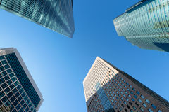 Tokyo skyscrapers. Royalty Free Stock Photography