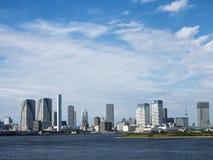 Tokyo skyscrapers skyline view Stock Photos