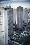 Tokyo skyskrapor Royaltyfri Fotografi
