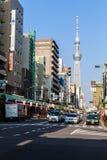 Tokyo skytree stockbilder