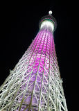 Tokyo Skytree at Night Royalty Free Stock Photography