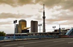 Tokyo Skytree at the Sumida River Royalty Free Stock Photography