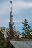 The Tokyo Skytree is the tallest tower in the world. Stock Photo