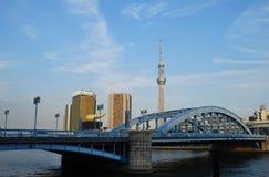 Tokyo, Skytree-Toren Stock Foto