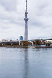 Tokyo Skytree waterfront in Tokyo Stock Photography