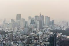 Tokyo smog Royalty Free Stock Photography