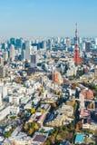 Tokyo stad arkivbild