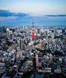 Tokyo stadssikt Royaltyfri Bild