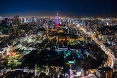 Tokyo stadssikt Royaltyfri Foto