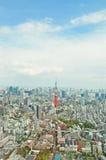 Tokyo stadssikt Fotografering för Bildbyråer