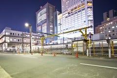 Tokyo-Stadtindustrie lizenzfreie stockfotos
