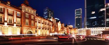 Tokyo station arkivfoton