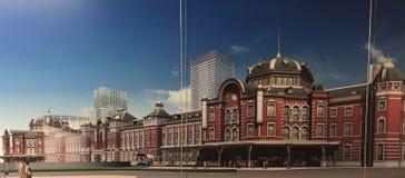 Tokyo-Station Lizenzfreies Stockbild