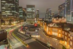 Tokyo-Station Stockbild