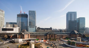 Tokyo station from above Royalty Free Stock Photography