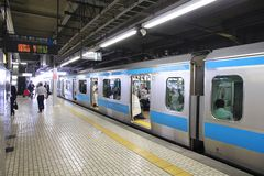Tokyo - station de Shinagawa Images libres de droits