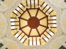 Tokyo station dome, Tokyo, Japan. Decoration of the dome to Tokyo station, Tokyo, Japan Stock Photos