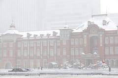 Tokyo station Royalty Free Stock Photo