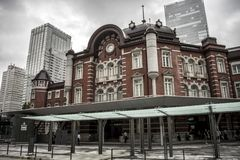 Tokyo-Station, Japan stockfotografie