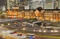 Tokyo Station in Japan Royalty Free Stock Photography