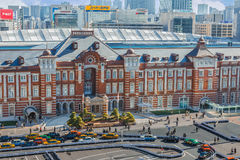 Tokyo Station Royalty Free Stock Photo