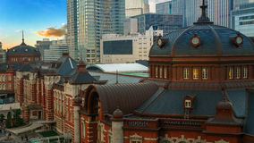 Tokyo Station in Japan Stock Photos