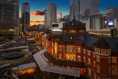 Tokyo Station in Japan Royalty Free Stock Images