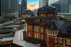 Tokyo Station in Japan Stock Photo