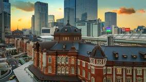 Tokyo Station in Japan Stock Photo