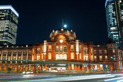 Tokyo Station Royalty Free Stock Photography