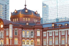Tokyo Station ,Renovated 2013 Royalty Free Stock Photo