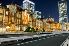 Tokyo Station in the Tokyo City Royalty Free Stock Images