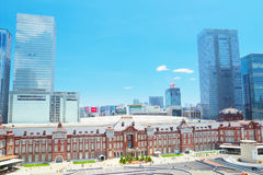 Tokyo Station Royalty Free Stock Image